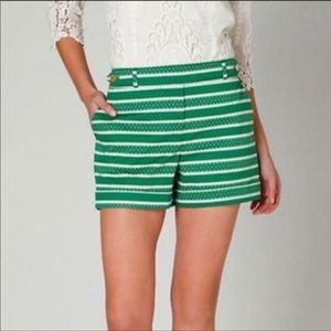 Anthropologie Meadow Rue Madison Pattern Shorts